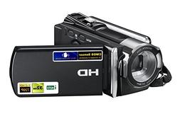 PowerLead PL-C05 HD 720P 16MP Digital Video Camcorder with 2