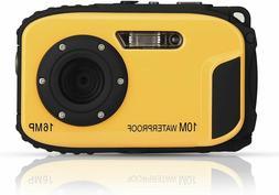 PowerLead PLC1207 2.7-inch LCD 16MP Digital Camera Underwate