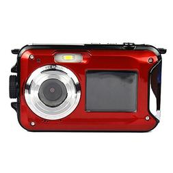 PowerLead PLDH21 Double Screens Waterproof Digital Camera 2.