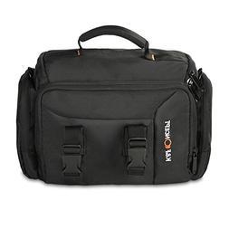 K&F Concept Portable Camera Case Black Large DSLR Gadget Bag