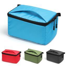 Portable Waterproof Camera Bag Insert DSLR Case SLR Cover Fo