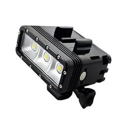 Suptig High Power Dimmable Dual Battery Waterproof LED Video