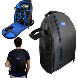Pro DSLR Camera Case Waterproof Shockproof Backpack Bag for