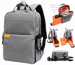 New Camera Backpack Bag Case with Waterproof Cover for Canon