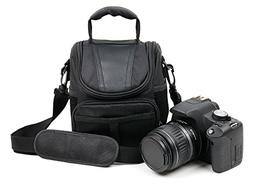 DURAGADGET Protective Black Durable Water-Resistant Carry Ca