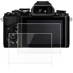 AFUNTA Screen Protectors Compatible Olympus OM-D E-M10 Mark