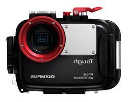 Olympus PT-048 Marine Camera Case - Polycarbonate - Black, C