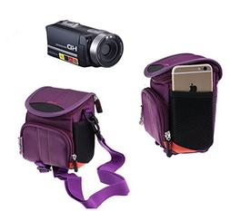 Navitech Purple Protective Portable Handheld Case and Travel