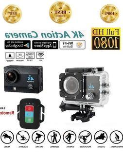 Rangefinder Cameras Action 4K Ultra HD Wi-Fi Underwater Remo