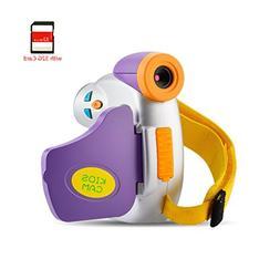 Kids Video Camera Recorder Aitemay Portable Digital Camcorde