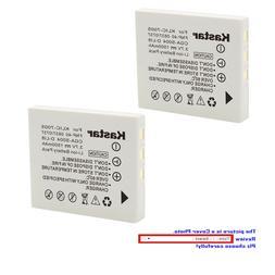 Kastar Replacement Battery for Pentax D-Li8 DBC8 & Optio S5z