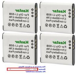 Kastar Replacement Battery for Pentax D-Li92 D-BC92 & Optio