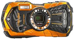 Ricoh WG-30W Digital Camera, Waterproof to 39', Shockproof,