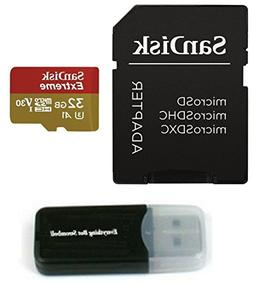 SanDisk 32GB Micro Extreme Memory Card works with FITFORT Bl