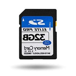 Gosira 32GB SDHC Memory Card Class 10 Ultra-Fast Read speeds
