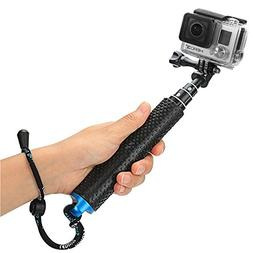 "Foretoo Selfie Stick for GoPro,19""Waterproof Hand Grip Adj"