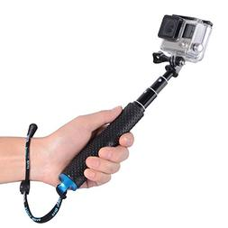"Trehapuva Selfie Stick, 19"" Waterproof Hand Grip Adjustabl"