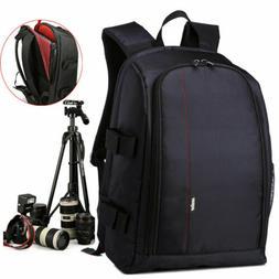 Shockproof Backpack Digital Camera Waterproof Bag Canon Sony