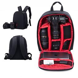 Camera Backpack SLR/DSLR Camera Bag Waterproof and Shockproo