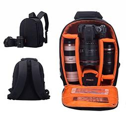 Camera Bag SLR/DSLR Camera Backpack Waterproof and Shockproo