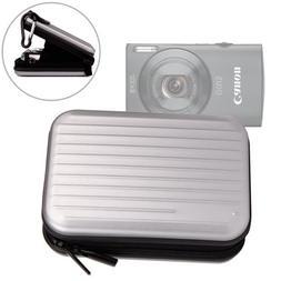 "DURAGADGET ""Tough"" Silver Water Resistant Digital Camera Cas"