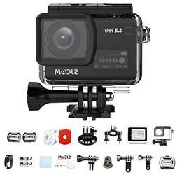 SJCAM SJ8 PRO Action Camera, 4k/60fps Sports Cam with Ambare