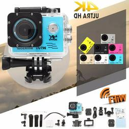 SJ9000 Wifi 1080P 4K Ultra HD Sport Action Camera DVR Cam Ca