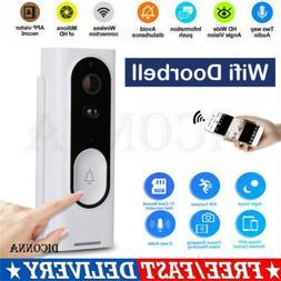 Smart WiFi Doorbell Camera Video Wireless Remote Door Bell C
