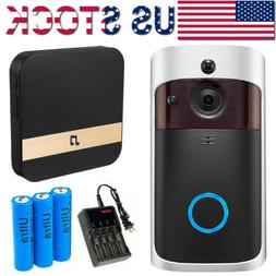 Smart Wireless Security Doorbell Camera WiFi Smart Video Int