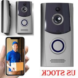 Smart Wireless WiFi Doorbell Video Waterproof Security Camer