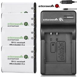 D-LI92 Battery + Charger For Pentax Optio RZ10 RZ18 WG-1 WG-