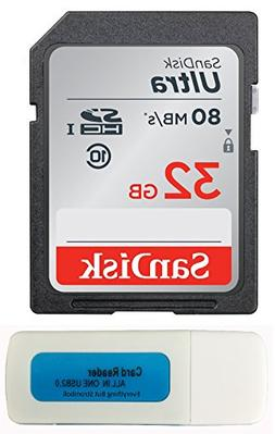 SanDisk Ultra SD Memory Card works with Nikon Coolpix L340,