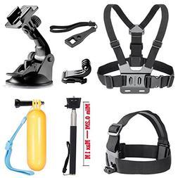 SOOCOO Action Camera Accessories Kit for AKASO EK7000 Campar