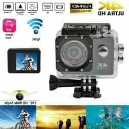 Sport Camera 4K WiFi Action Camera DVR Camcorder 1080P Ultra