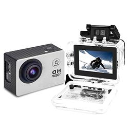 Sports Action Camera Vlog DV HD 1080P 5MP 30m Underwater Wat