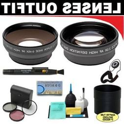 2x Digital Telephoto Professional Series Lens + 0.5x Digital