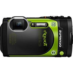 Olympus TG-870 Tough Waterproof 16MP Green Digital Camera
