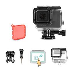 TELESIN Touchable Screen Waterproof Housing Case Diving Came