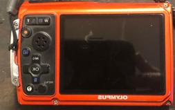 Olympus Tough TG-320 14.0MP Red Waterproof & Shockproof Digi