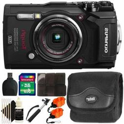 Olympus Tough TG-5 12MP Waterproof Digital Camera Black With