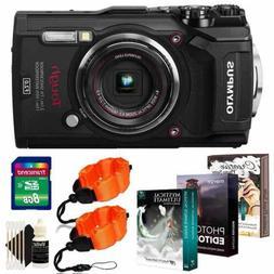 Olympus Tough TG-5 12MP Waterproof Digital Camera Black With