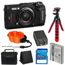 Olympus Tough TG-5 Waterproof and Shockproof Camera  + Expo