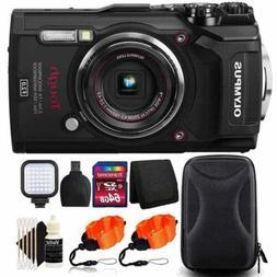"Olympus Tough TG-5 Waterproof Digital Camera 3"" LCD, Black W"