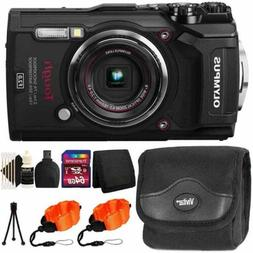 Olympus Tough TG-5 Waterproof Digital Camera Black With Ulti