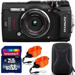 Olympus Tough TG-5 Waterproof Digital Camera Black With Prem