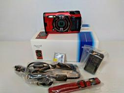 Olympus Tough TG-6 12MP Waterproof Digital Camera - Red