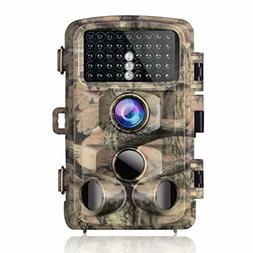 Campark Trail Game Camera 14MP 1080P Waterproof 120°Detecti
