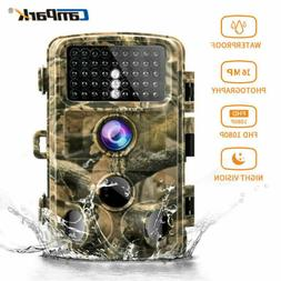 Campark Trail Camera 14MP 1080P Waterproof Hunting Wildlife