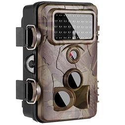 "Trail Camera Game Camera 2.4"" LCD 42pcs No Glow IR LEDs and"