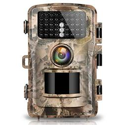 """Campark Trail Camera 14MP 1080P 2.4"""" LCD Game & Hunting Came"""
